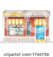 Shoe Repair Building Storefront