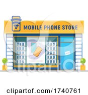 Mobile Phone Store Building Storefront