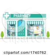 Pharmacy Building Storefront