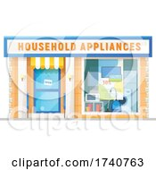 Household Appliances Building Storefront