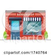 Barbershop Building Storefront