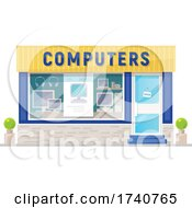 Computers Building Storefront