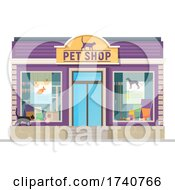 Pet Shop Building Storefront by Vector Tradition SM
