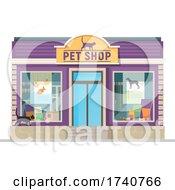 Pet Shop Building Storefront