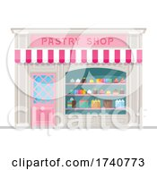 Pastry Building Storefront