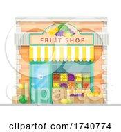 Fruit Shop Building Storefront