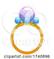 Poster, Art Print Of Fantasy Ring