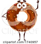 Donut Food Character