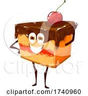 Cake Food Character