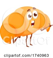 Croissant Food Character