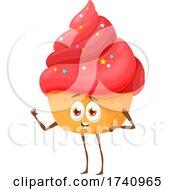 Cupcake Food Character