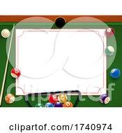 Billiards Pool Border