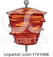 Gyro Kebab On A Skewer