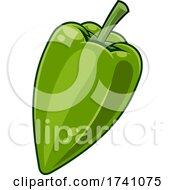Cartoon Jalapeno Pepper