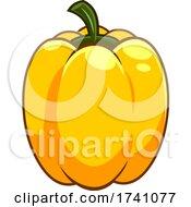 Cartoon Yellow Bell Pepper