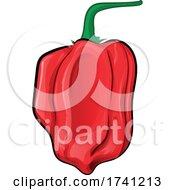 04/09/2021 - Red Habanero Pepper