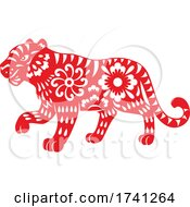 Red Chinese Tiger