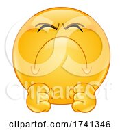 Irritated Yellow Smiley Face Emoji Emoticon by yayayoyo #COLLC1741346-0157