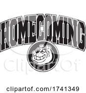 Black And White Bulldog Homecoming Design by Johnny Sajem