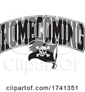 Black And White Pirates Or Buccaneers Homecoming Design by Johnny Sajem