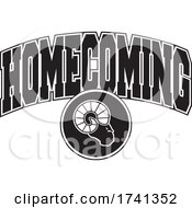 Black And White Rams Homecoming Design by Johnny Sajem