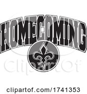 Black And White Saints Homecoming Design by Johnny Sajem