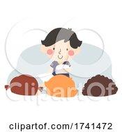 Kid Boy Class Paper Patrol Illustration