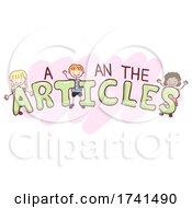 Stickman Kids Articles Illustration