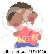 04/15/2021 - Kid Toddler Boy Book Handling Skills Illustration