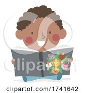 04/15/2021 - Kid Toddler Boy Learn Animals Story Illustration