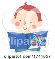 04/15/2021 - Kid Toddler Learn Numbers Story Book Illustration