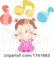 04/15/2021 - Kid Toddler Girl Learn Skills Music Primary Colors