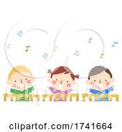 04/15/2021 - Kids Baby Sing Song Wave Crib Illustration