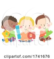 04/16/2021 - Kids Toddlers Play Word Illustration