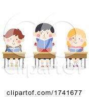 04/16/2021 - Kids Afraid To Read Aloud Class Book Illustration