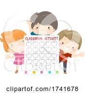 04/16/2021 - Kids Board Classroom Activity Illustration