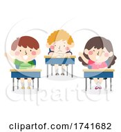 04/15/2021 - Kids Boy Back Not Active Class Illustration