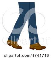 Guy Oxford Shoes Illustration