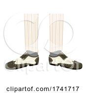 Guy Spectator Shoes Illustration