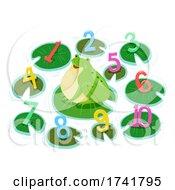 Frog Pond Numbers Illustration
