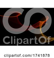 Abstract Background With Motion Flow Design