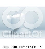 Abstract Interior Design With Clouds