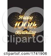 Happy 100th Birthday Card 1403