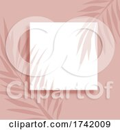 Abstract Background With Leaves Shadow