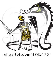 04/26/2021 - Saint George And The Dragon
