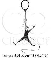 04/26/2021 - Man Hanging From A Balloon