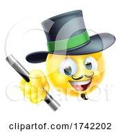 Magician Emoticon Cartoon Face Icon