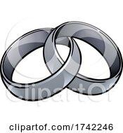 Wedding Ring Bands Vintage Illustration