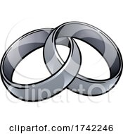 Wedding Ring Bands Vintage Illustration