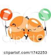 04/27/2021 - Cute Sea Buckthorns Holding Balloons